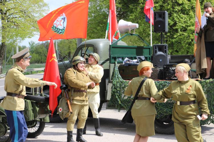 Видео празднования Дня Победы