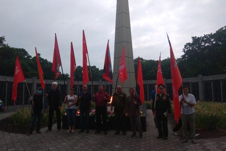 День памяти и скорби в Черняховске