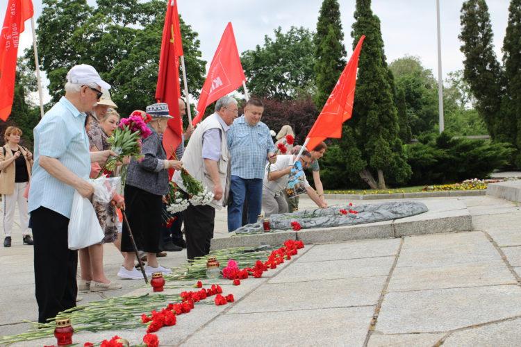 День памяти и скорби в Калининграде