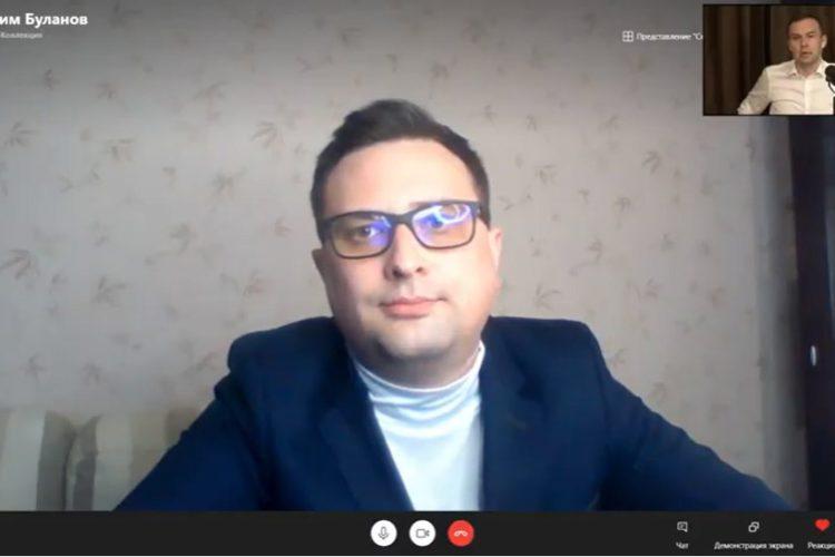 Юрий Афонин и Максим Буланов в эфире программы «Прямой разговор»