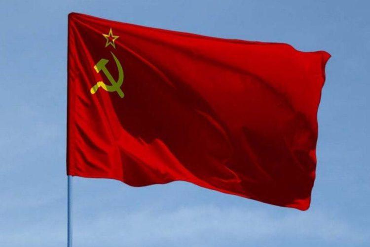 Флаг СССР — союз серпа и молота
